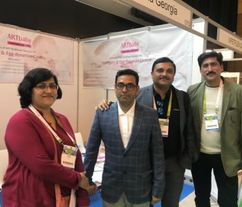 Dr. Rashmi Sharma at ARTbaby - Booth 010 - Eshre 2018